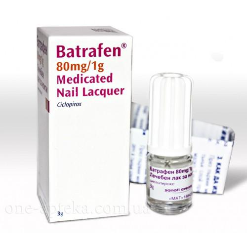 Батрафен для лечения грибка ногтей
