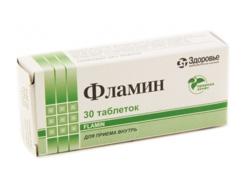 """Фламин"" - таблетки от грибка ногтей"