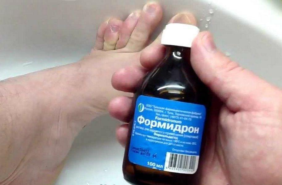 Лечение грибка ногтей Формидроном