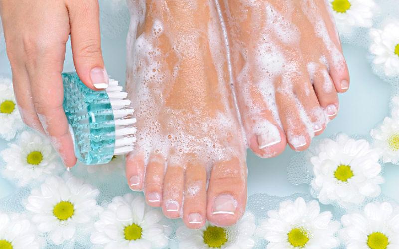 Соблюдение гигиены для профилактики вросших ногтей