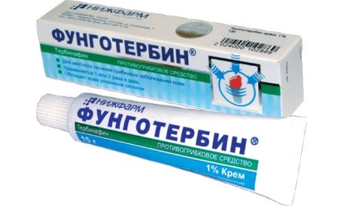 Препарат Фунготербин от грибка