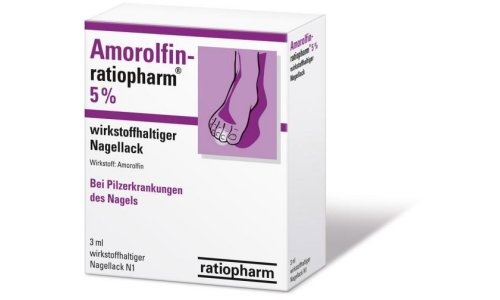 Применение Аморолфина для лечения грибка ногтей