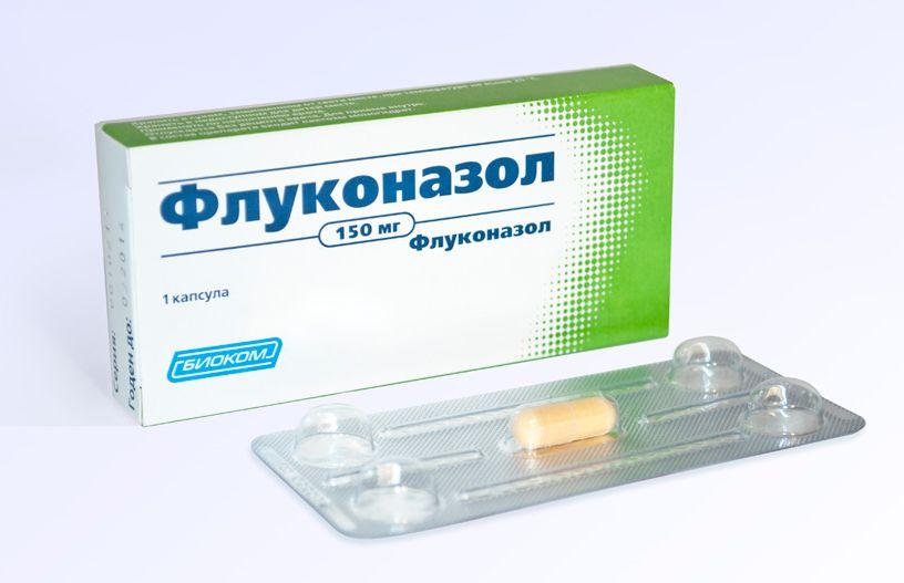 Флуконазол от грибка ногтей